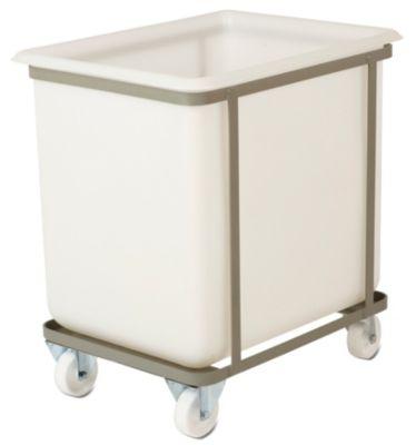 Fahrgestell - für Behältergröße 160 l - 2 Lenk- und 2 Bockrollen