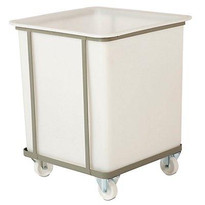 VECTURA Fahrgestell - für Behältergröße 240 l - 2 Lenk- und 2 Bockrollen