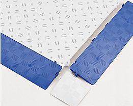 Randleiste, VE 4 Stk - LxBxH 500 x 120 x 25 mm - blau