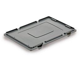 Deckel aus Polyethylen - für Drehstapelbehälter - Länge x Breite 600 x 400 mm