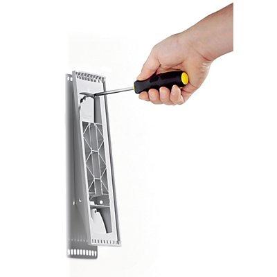 Durable Wandhalter SHERPA - leer - zur Aufnahme von 10 Sichttafeln DIN A4
