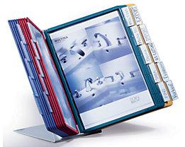 Durable Kit complet présentoir de table - support en tôle d'acier en forme de L