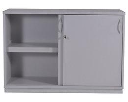 SEQUENZ Büro-Sideboard - HxBxT 820 x 1200 x 440 mm, 2 Schiebetüren