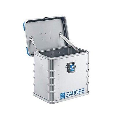 ZARGES Caisse universelle en aluminium - capacité 27 l - dim. ext. L x l x h 400 x 300 x 340 mm