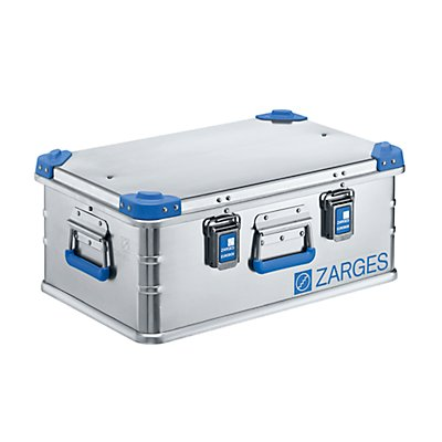 ZARGES Caisse universelle en aluminium - capacité 42 l - dim. ext. L x l x h 600 x 400 x 250 mm