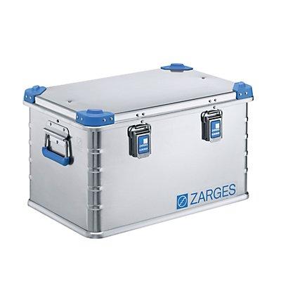 ZARGES Caisse universelle en aluminium - capacité 60 l - dim. ext. L x l x h 600 x 400 x 340 mm