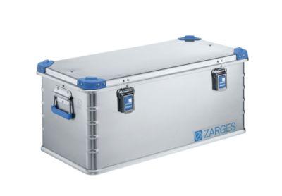 ZARGES Aluminium-Universalbox - Inhalt 81 l - Außenmaß LxBxH 800 x 400 x 340 mm