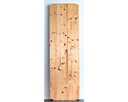 Tablette pour rayonnage emboîtable en bois - largeur 1300 mm, rabotée et polie - profondeur 400 mm