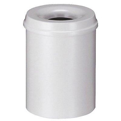 Corbeille à papier de sécurité - capacité 15 l, hauteur 360 mm