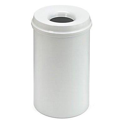Sicherheitspapierkorb - Inhalt 20 l, Höhe 426 mm