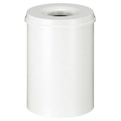 Corbeille à papier de sécurité - capacité 30 l, hauteur 470 mm