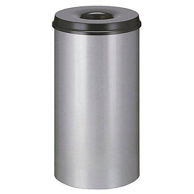 Corbeille à papier de sécurité - capacité 50 l, hauteur 625 mm