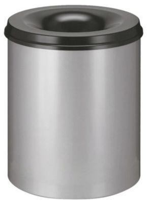 Sicherheitspapierkorb - Inhalt 80 l, Höhe 550 mm