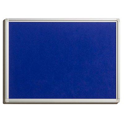 Pinnwand - aus Filz, blau