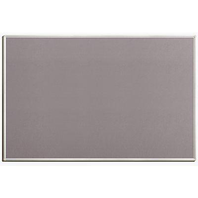 tableau pour pingles en feutre coloris gris. Black Bedroom Furniture Sets. Home Design Ideas