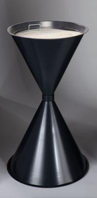 Kegel-Standascher - Stahlblech, pulverbeschichtet