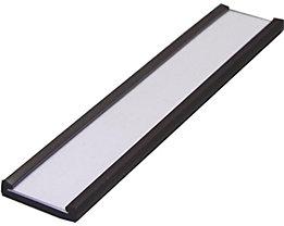 Etikettenrahmen, magnetisch - VE 100 Stk - Höhe 15 mm, Länge 80 mm