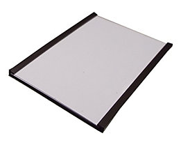 Etikettenrahmen, magnetisch - VE 100 Stk - Höhe 50 mm, Länge 80 mm