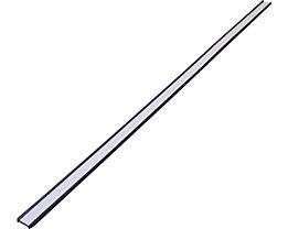Etikettenrahmen, magnetisch - VE 20 Stk - Höhe 15 mm, Länge 500 mm