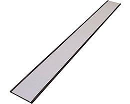 Etikettenrahmen, magnetisch - VE 20 Stk - Höhe 50 mm, Länge 500 mm