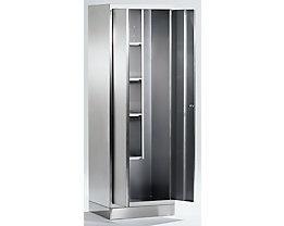 Armoire universelle en inox - armoire pour produits ménagers