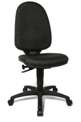 Standard-Drehstuhl - ohne Armlehnen, Rückenlehne 550 mm -