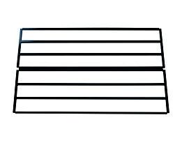 Wolf Schuhablageboden für Garderobenbank - doppelseitig - Länge 1000 mm