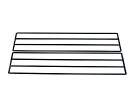 Wolf Schuhablageboden für Garderobenbank - doppelseitig - Länge 1500 mm
