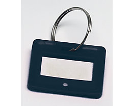 Schlüsselanhänger - VE 10 Stück - schwarz