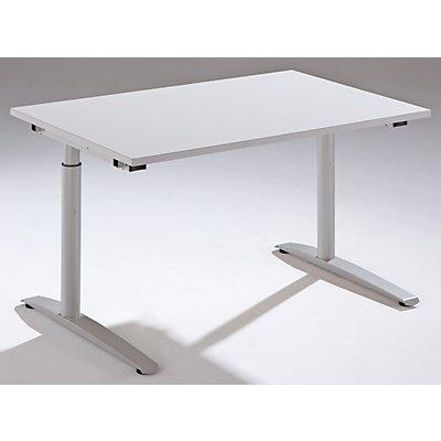 fm THEA Schreibtisch mit C-Fußgestell - Höhe 680 – 820 mm