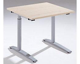 THEA Schreibtisch mit C-Fußgestell - Höhe 680 – 820 mm