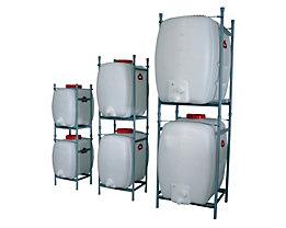Stapelgestell - für je 1 Raumspartank, für Behälterinhalt 500 Liter