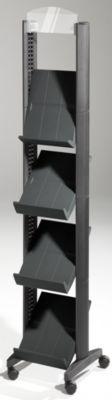 Prospektständer aus Polystyrol - für 4 x DIN A4