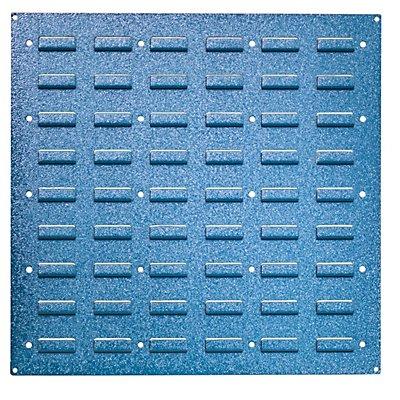 VIPA Wandpaneel aus Stahlblech - zum Einhängen von Kästen, RAL 5012