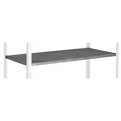 Stahl-Gitterrost - als 3. zusätzliche Ebene - HxBxT 30 x 1300 x 620 mm