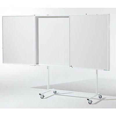 Präsentationsschrank - Weißwandtafel mit Projektionsfläche