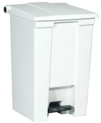 Rubbermaid Kunststoff-Treteimer - Inhalt 45 l - weiß