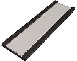 Etikettenrahmen, magnetisch - VE 100 Stk - Höhe 20 mm, Länge 80 mm