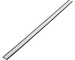 Etikettenrahmen, magnetisch - VE 20 Stk - Höhe 20 mm, Länge 500 mm