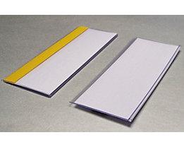 Tickethalter - selbstklebend - HxB 80 x 200 mm, VE 50 Stk