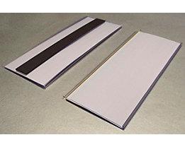 Tickethalter - magnetisch - HxB 80 x 200 mm, VE 50 Stk