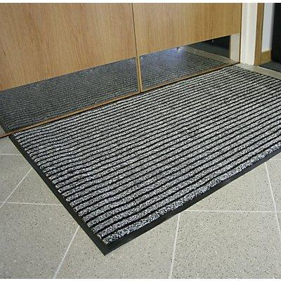 COBA Schmutzfangmatte mit Borsten - LxB 900 x 600 mm