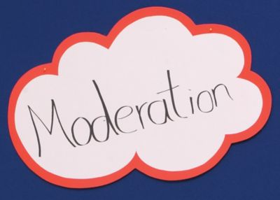 magnetoplan® magnetoplan® Moderationswolken-Sets - VE 100 Stk - 420 x 250 mm