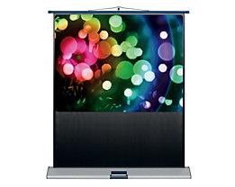 magnetoplan® Lichtbildwand MOBIL - Format 4 : 3