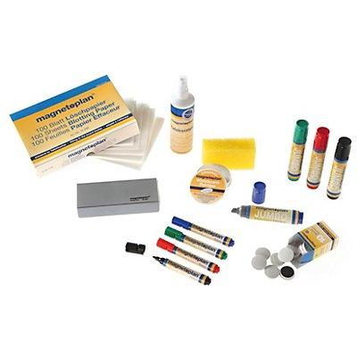 magnetoplan® magnetoplan® Zubehörset - für weiße Schreibtafel - Stifte, Magnete, Reiniger