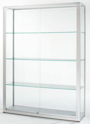 Standvitrine mit Schiebetüren - Höhe 2000 mm