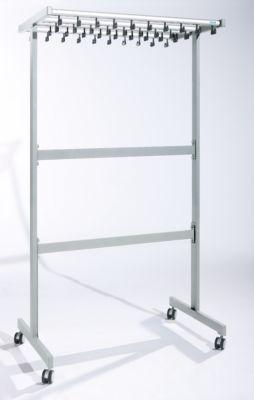 office akktiv Reihengarderobenständer doppelseitig - ohne Kleiderbügel