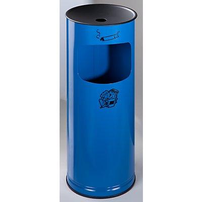 VAR Sicherheits-Kombiascher, Stahlblech - Höhe 610 mm, Abfallvolumen 17 l