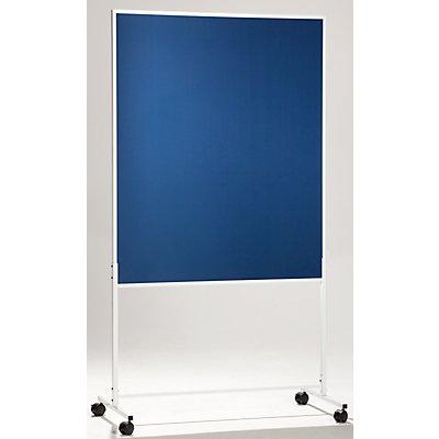 QUIPO mobile Präsentationswand - HxBxT 1960 x 1000 x 500 mm, einteilig