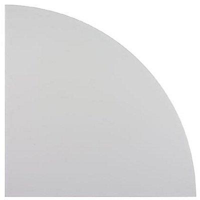 Hammerbacher FINO Verkettung - Eckplatte 90°, abgerundet